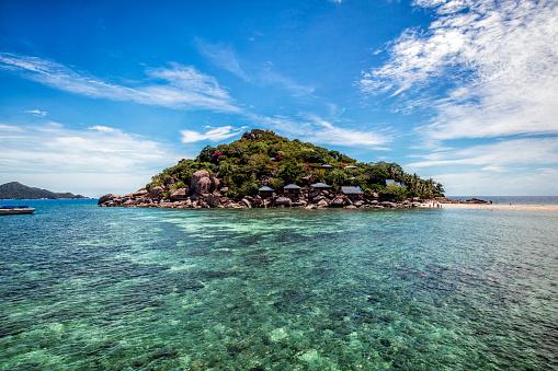 Shallow「Thailand, Surat Thani, island Ko Nang Yuan」:スマホ壁紙(10)