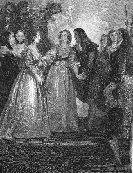 Stuart - Florida「Charles Ii Receiving The Duchess Of Orleans At Dover」:写真・画像(12)[壁紙.com]