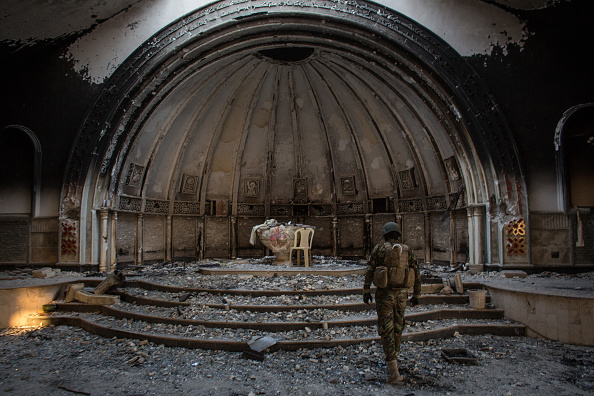 Church「NPU Forces Secure The Largely Christian Town Of Qaraqosh」:写真・画像(1)[壁紙.com]