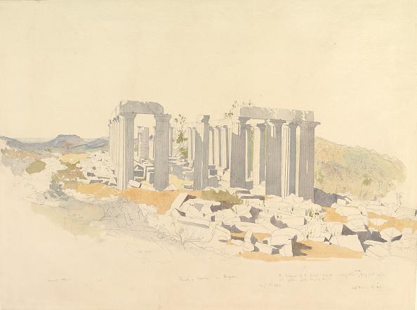 Architectural Column「The Temple Of Apollo At Bassae」:写真・画像(10)[壁紙.com]