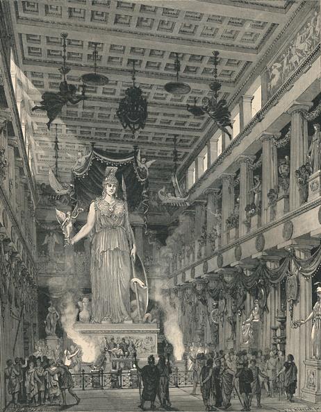 Ancient Civilization「The Temple Of Athene Parthenos」:写真・画像(9)[壁紙.com]