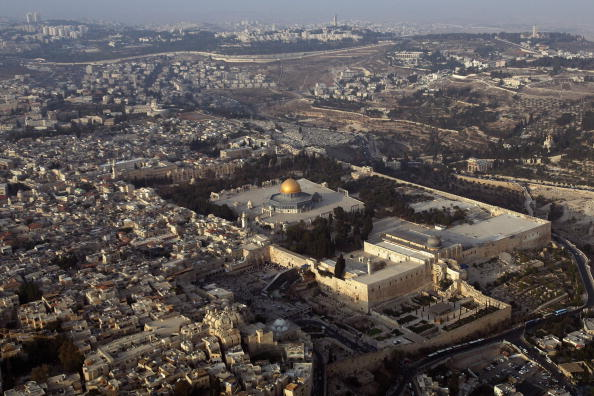 Jerusalem「Aerial Views Of Jerusalem」:写真・画像(2)[壁紙.com]