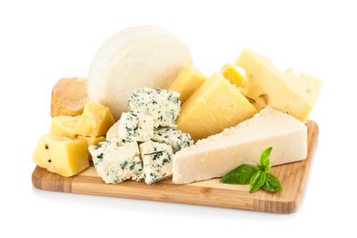 Cheese Board「Wooden cheese board isolated on white backdrop」:スマホ壁紙(5)