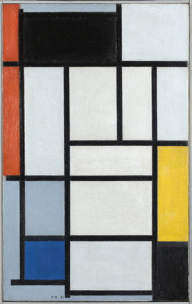 Abstract「Composition With Red Black Yellow And Blue 1921」:写真・画像(6)[壁紙.com]