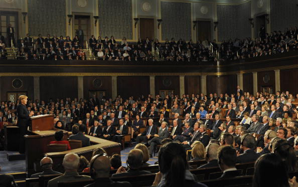 Joint Session of Congress「German Chancellor Merkel Address Joint Session Of Congress」:写真・画像(13)[壁紙.com]