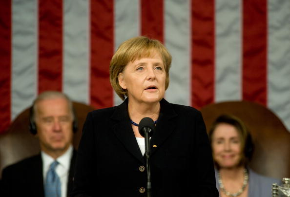 Joint Session of Congress「German Chancellor Merkel Address Joint Session Of Congress」:写真・画像(12)[壁紙.com]