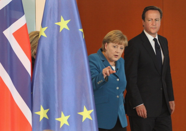 Corporate Business「Cameron, Merkel And Stoltenberg Attend Student Conference」:写真・画像(5)[壁紙.com]