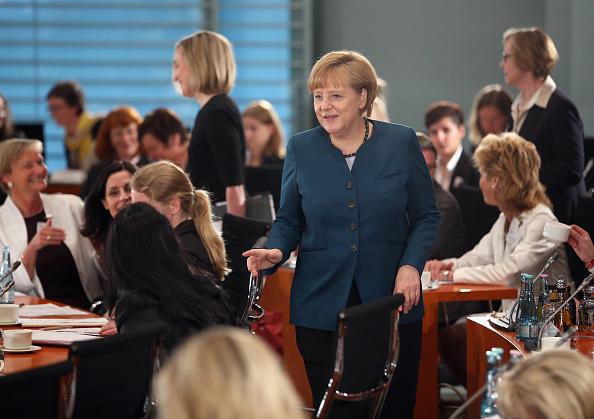 Females「Merkel Meets With Women Leaders」:写真・画像(19)[壁紙.com]