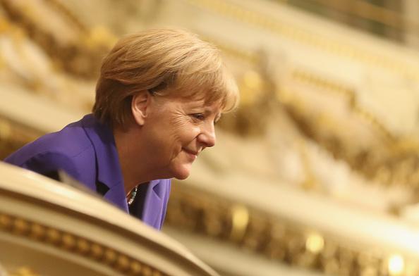 アンゲラ・メルケル「Germany Marks Unity Day With Events In Dresden」:写真・画像(9)[壁紙.com]