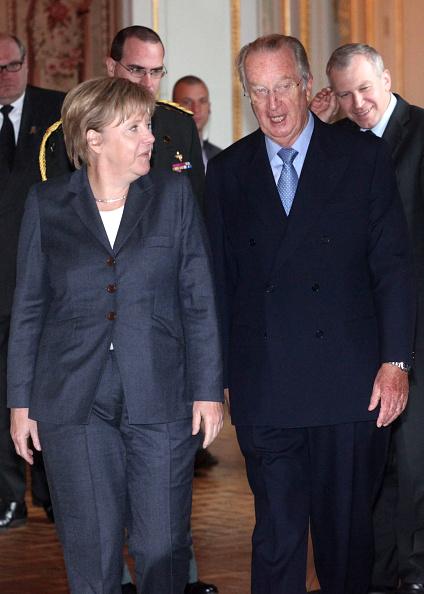 Royal Palace of Laeken「King Albert of Belgium Meets German Chancellor Angela Merkel」:写真・画像(17)[壁紙.com]