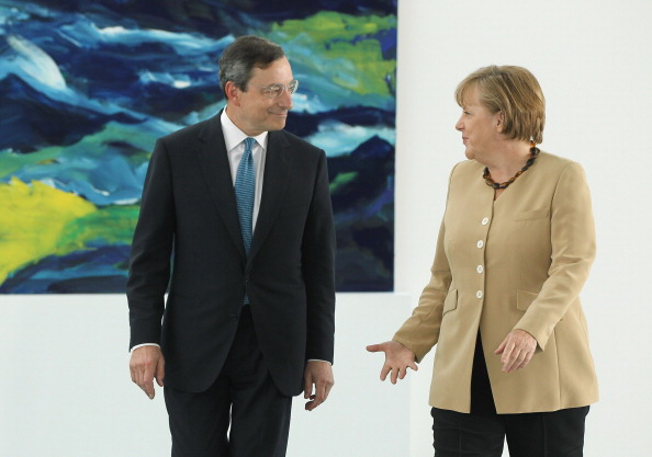 Corporate Business「Merkel Meets ECB Candidate Mario Draghi」:写真・画像(16)[壁紙.com]