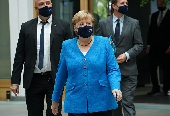 Infectious Disease「Merkel Holds Summer Press Conference」:写真・画像(16)[壁紙.com]