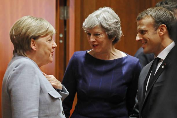 Angela Merkel「Leaders Meet In Brussels For European Council Meeting - Day One」:写真・画像(12)[壁紙.com]