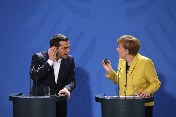 Human Role「Prime Minister Tsipras Meets With Chancellor Merkel In Berlin」:写真・画像(1)[壁紙.com]