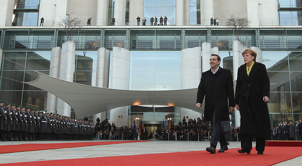 Corporate Business「Prime Minister Tsipras Meets With Chancellor Merkel In Berlin」:写真・画像(0)[壁紙.com]