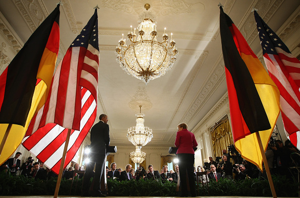 French Press「Obama And German Chancellor Merkel Hold Joint Press Conference At White House」:写真・画像(16)[壁紙.com]
