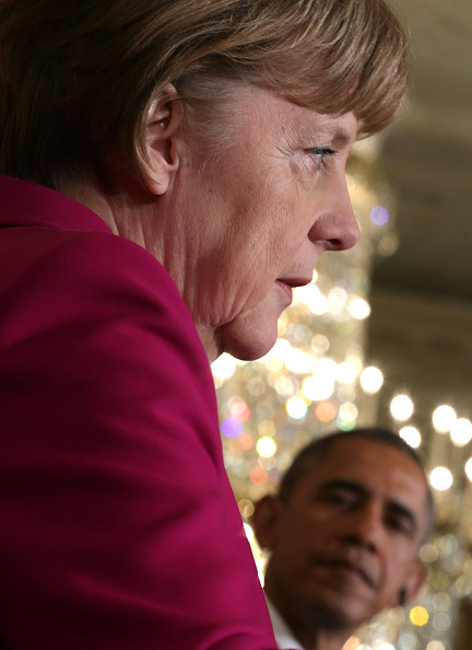 French Press「Obama And German Chancellor Merkel Hold Joint Press Conference At White House」:写真・画像(19)[壁紙.com]