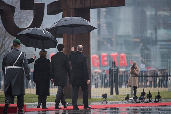 Free Trade Agreement「Canadian Prime Minister Justin Trudeau Visits Berlin」:写真・画像(9)[壁紙.com]