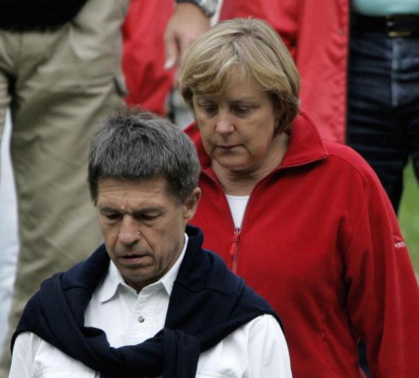 Alto Adige - Italy「Angela Merkel Vacations In Northern Italy」:写真・画像(19)[壁紙.com]