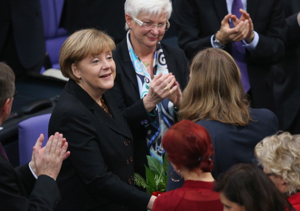 Coworker「Bundestag Swears In Germany's New Coalition Government」:写真・画像(10)[壁紙.com]