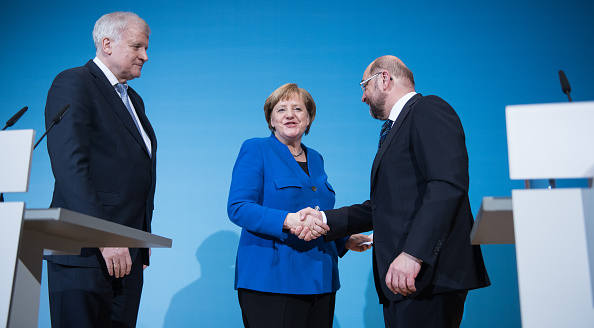 Steffi Loos「SPD, CDU And CSU Meet To Conclude Preliminary Coalition Talks」:写真・画像(18)[壁紙.com]