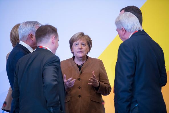 Christian Democratic Union「CDU Holds Federal Party Congress To Elect Successor To Angela Merkel」:写真・画像(17)[壁紙.com]