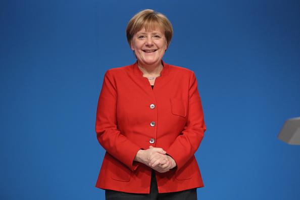 Gesturing「Christian Democrats (CDU) Hold Federal Convention」:写真・画像(6)[壁紙.com]