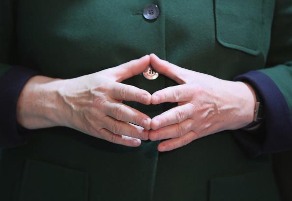 Hand「Christian Democrats (CDU) Hold Federal Convention」:写真・画像(1)[壁紙.com]
