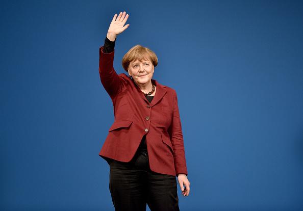 アンゲラ・メルケル「CDU Campaigns In Rhineland-Palatinate」:写真・画像(7)[壁紙.com]
