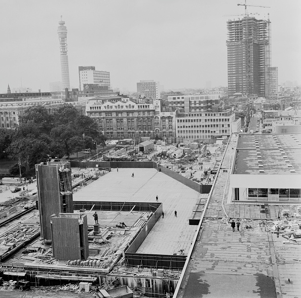 Euston Station「Euston Under Construction」:写真・画像(13)[壁紙.com]
