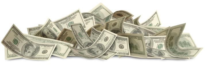 US Paper Currency「Big Bucks with Path」:スマホ壁紙(10)