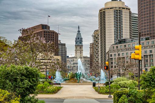 Pennsylvania「City Hall of Philadelphia in Pennsylvania.」:スマホ壁紙(1)