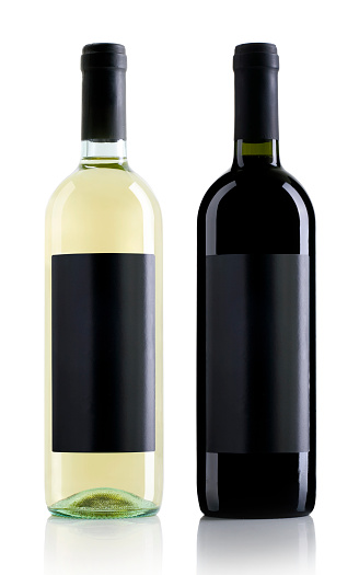 Wine Bottle「One clear wine bottle and one black wine bottle」:スマホ壁紙(18)