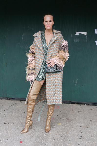 ニューヨークファッションウィーク「Street Style - New York Fashion Week September 2018 - Day 7」:写真・画像(18)[壁紙.com]