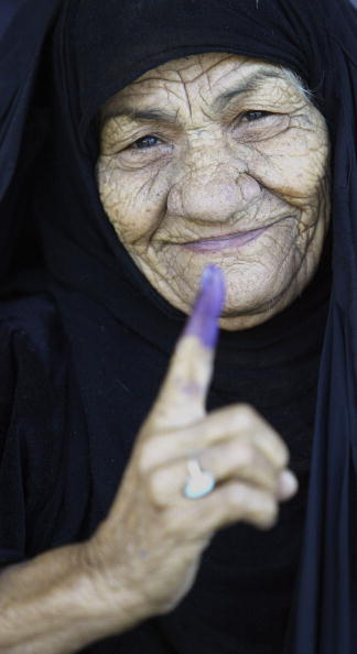One Woman Only「Iraqis Go To The Polls For Parliamentary Elections」:写真・画像(7)[壁紙.com]