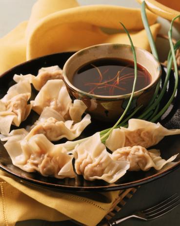 Chinese Dumpling「Pork dumplings with soy sauce」:スマホ壁紙(16)