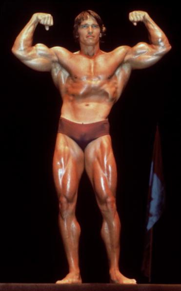 Arnold Schwarzenegger「Schwarzenegger Flexes Muscles」:写真・画像(3)[壁紙.com]