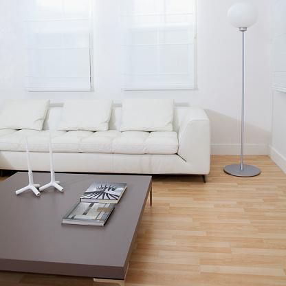Coffee Table「Sofa, coffee table in modern living room」:スマホ壁紙(8)
