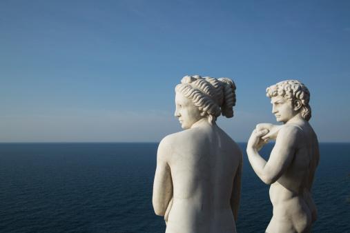 Roman「Roman statues replicas on the Amalfi Coast」:スマホ壁紙(5)