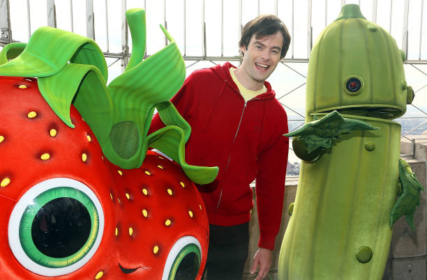 """Bill Hader Visits The Empire State Building In Celebration Of """"Cloudy With A Chance Of Meatballs 2"""" Release:ニュース(壁紙.com)"""