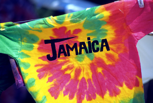 "Souvenir「Tie dye t-shirt with the word ""Jamaica"" written」:スマホ壁紙(18)"