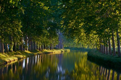UNESCO「France, Languedoc-Roussillon, Canal du Midi」:スマホ壁紙(7)