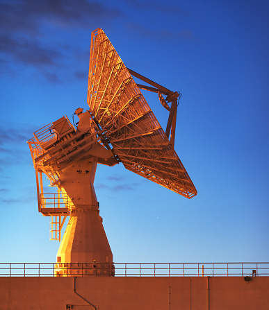 Antenna - Aerial「Missile Range Instrumentation Ship」:スマホ壁紙(13)