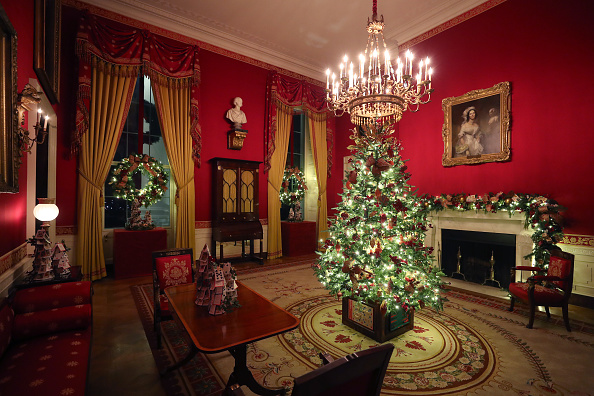 Christmas「The White House Previews Decor For The Holiday Season」:写真・画像(17)[壁紙.com]