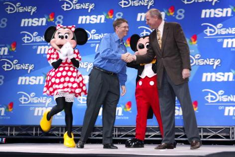 ミニーマウス「MSN 8 & Disney Press Conference」:写真・画像(12)[壁紙.com]