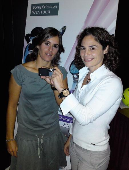 アナベル メディナ ガリゲス「Sony Ericsson WTA Championships」:写真・画像(4)[壁紙.com]