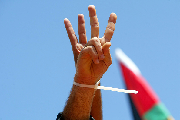 Human Hand「Thousands of Palestinians Demonstrate Against Israeli Prisons In Gaza」:写真・画像(1)[壁紙.com]