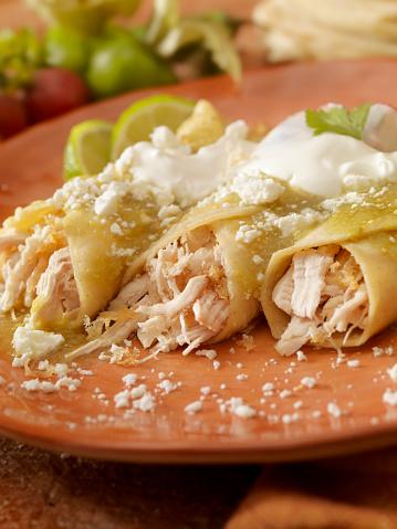 Sour Cream「Chicken enchiladas in salsa verde」:スマホ壁紙(18)