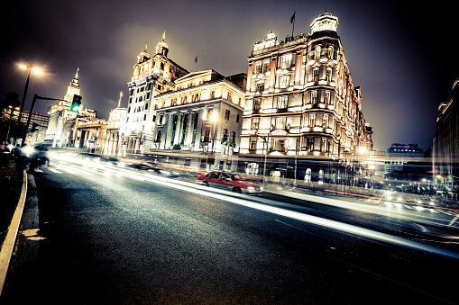 スコットランド文化「上海の夜景」:スマホ壁紙(9)