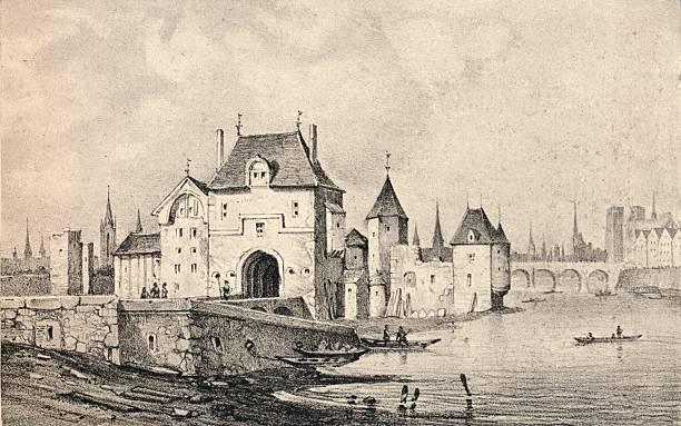 'The Porte St Bernard', 1915. Artist: Unknown.:ニュース(壁紙.com)